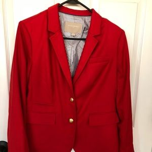 Banana Republic Red blazer/jacket size 10